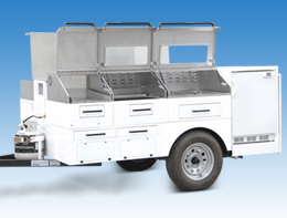 Gourmet Mobile Food Cart
